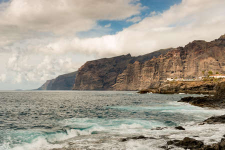 Los Gigantes on the island Tenerife, Spain