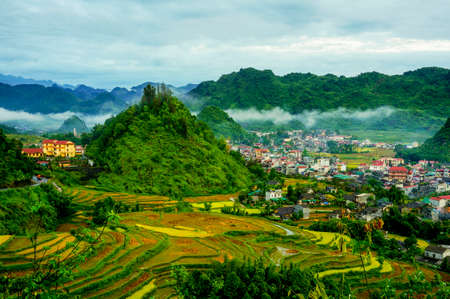 Co Tien moutain in Ha Giang province northern Vietnam