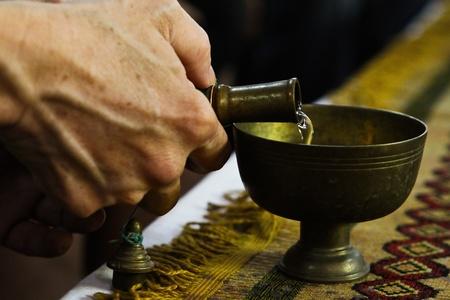 merit: Buddhist ceremony to make merit to the spirit and relatives