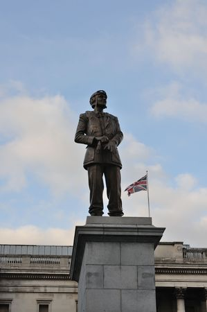 In recognition of Air Chief Marshal Sir Keith Parks outstanding contributions during the Second World War, a memorial statue was unveiled on the Fourth Plinth Trafalgar square on 4 November 2009.   The statue, presented by the Sir Keith Park Memorial Cam