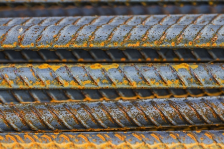 Steel rod Stock Photo - 19982628