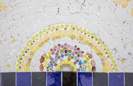 marbled effect: Piso patr�n libre de baldosa.