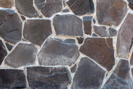 harmonic: Harmonic pattern of slate tiles, Stone Wall Texture Background.