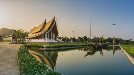 Wat Dhammayan the temple in Phetchabun Province,Thailand