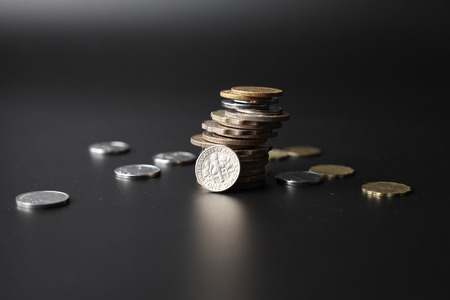 coins stack money