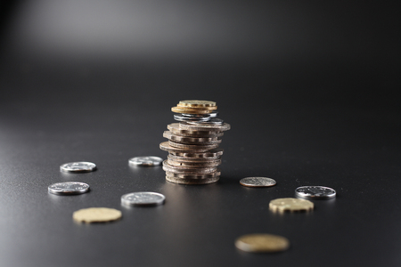 coin stack money