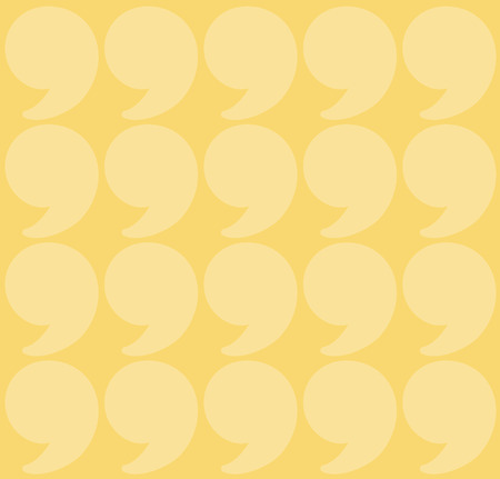 quotation marks: yellow quotation marks. Quote background. seamless pattern. beige shade