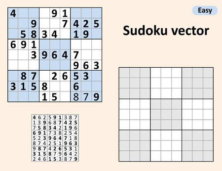 sudoku blank template