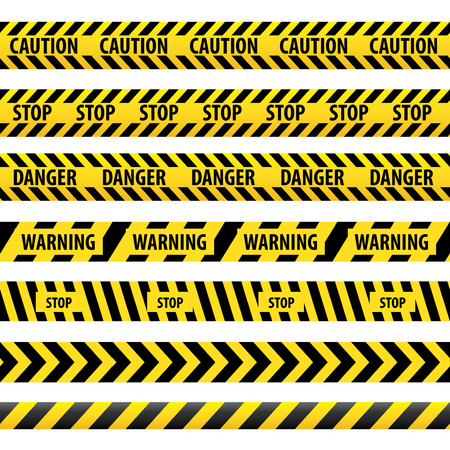 Warning tape, danger tape