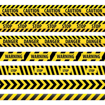 Warning tape, danger tape
