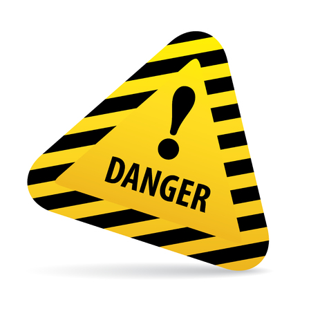 Sign Warning, danger