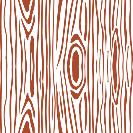 Seamless pattern  the slice of wood. the structure of the tree, saw cut. Brown Vector illustration.