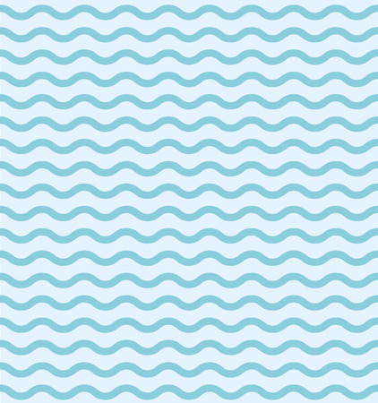 Wave pattern template. Blue Graphic waves pattern seamless.