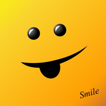 Emotion Smiley wallpaper design