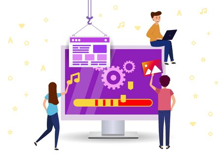 update  software to your computer. Little people repair system and download . Team work Support website.