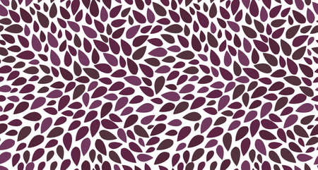 Seamless leaves pattern isolated. Background of leaves.