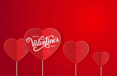 background with hearts for wedding or for Valentine s day Illustration