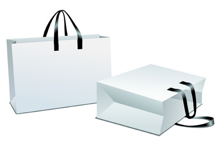 Shopping package. Easy to edit and modify.