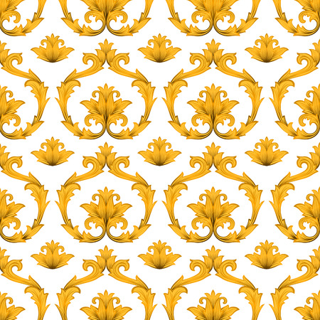 vector artwork: Seamless decorative  wallpaper.