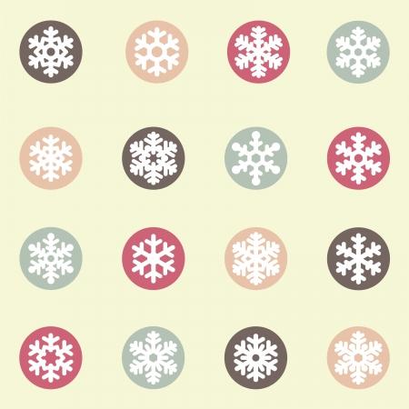 snowflake set: Snowflakes icon collection