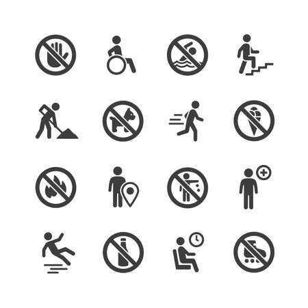 Information icons and ban elements