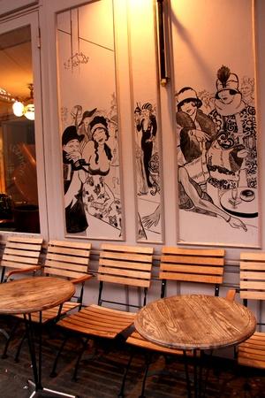 파리 년 2 월 14 일 - 2012 년 파리의 카페 에디토리얼