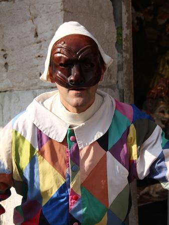Venice, Italy, February 19, 2012 - Venetian Carnival