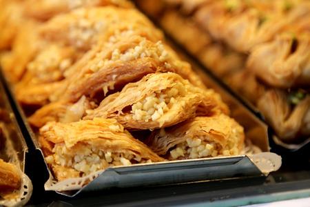 Traditional Turkish Dessert sweet pastry