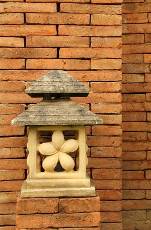 garden lamp: Garden lamp sand stone in Bali style