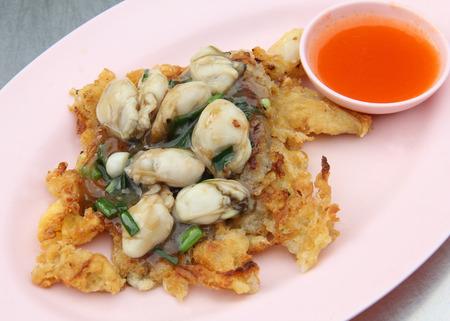 batter: Mussels fried in egg batter
