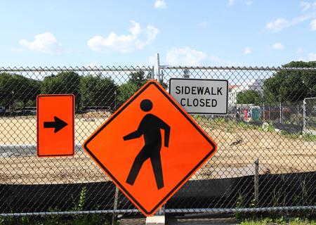 paso de peatones: Peatonal signo