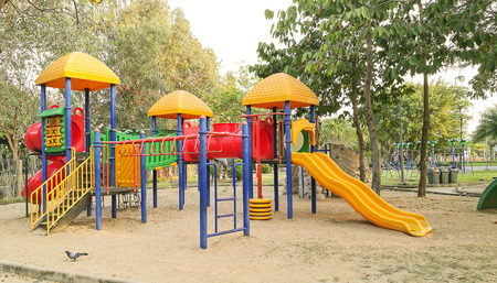 Children playground in park Stock Photo - 85286785