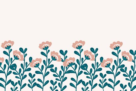vector botanical background