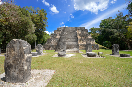 archaeological site: Ancient structure in Tikal National Park and archaeological site, Guatemala
