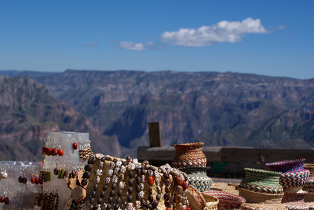 Tarahumara crafts in the Copper Canyons, Chihuahua, Mexico