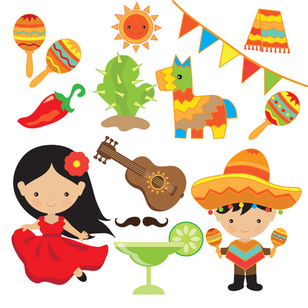 Fiesta illustration Illustration
