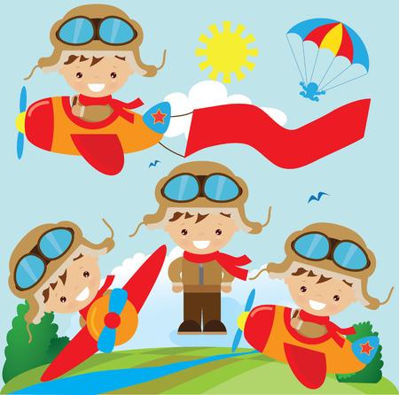 aviator: Aviator illustration