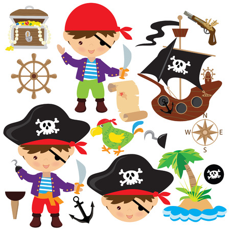 buccaneer: Pirate illustration