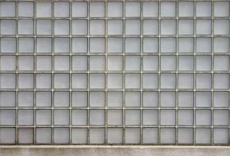正方形のガラスのテクスチャ 写真素材