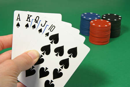 poker royal straight flush