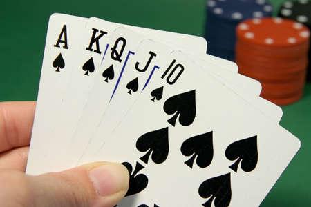 straight flush: poker royal straight flush