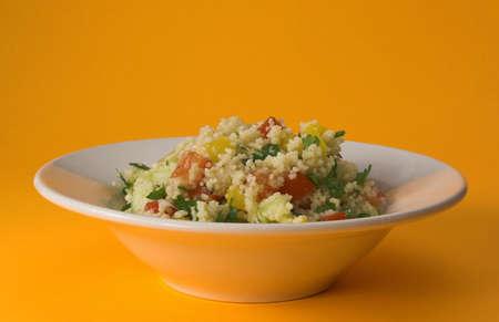 tabbouleh: Bowl of fresh tabbouleh