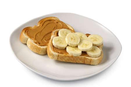 peanut butter toast  photo