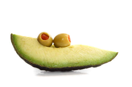 avocado and olives Stock Photo - 2549533