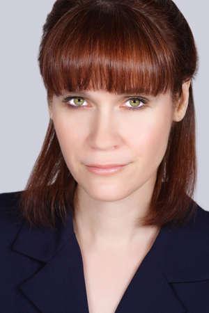 closeup portrait of a woman