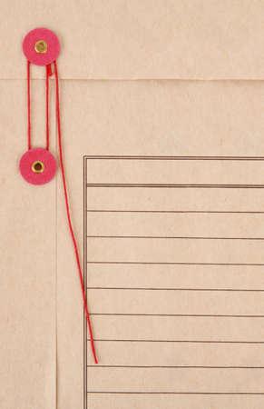 closeup on inter-department mail envelope Фото со стока