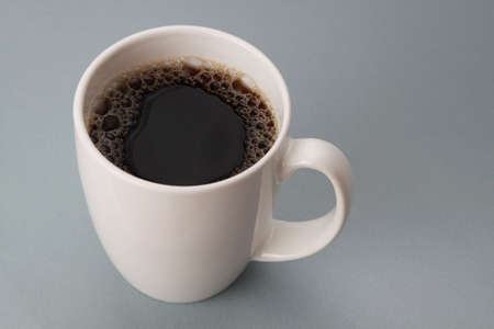 top view of a cup filled with black coffee Stock fotó