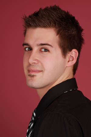 young caucasian man Stock Photo - 4281815