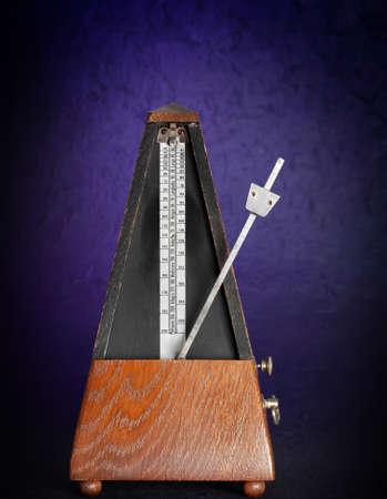 oldfashion wood metronome music tool Stock Photo - 8555674