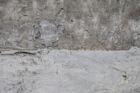 sloppy: Stucco textured gray sloppy sloppy two shades of dark and light Stock Photo